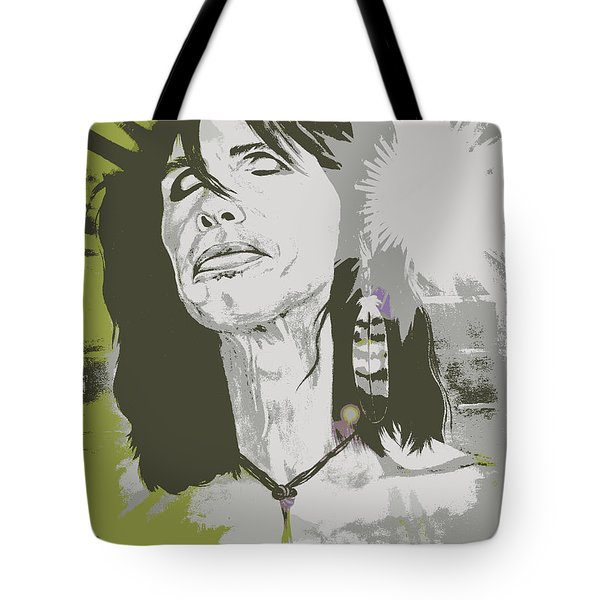 Steven Tyler  Tote Bag by Jeepee Aero