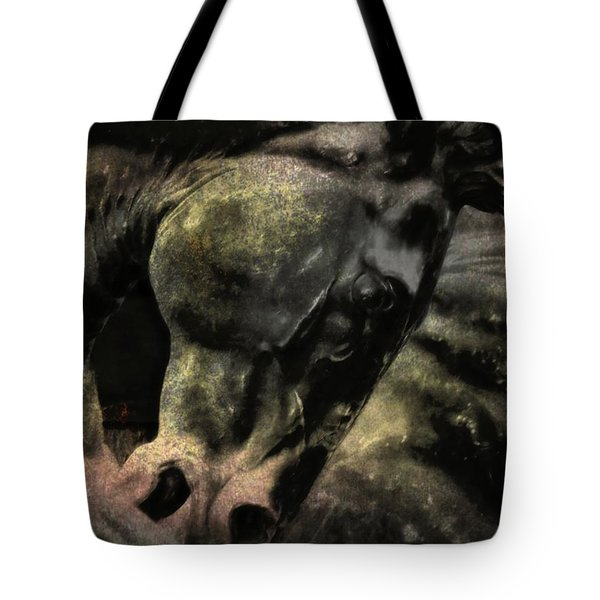 Stone Steed Art Tote Bag