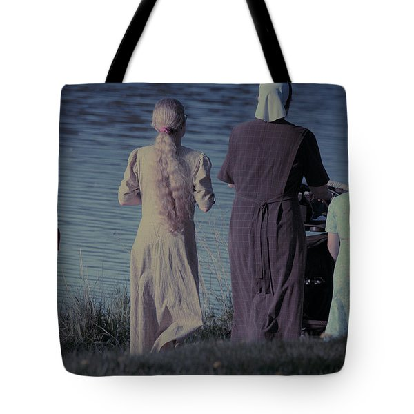 Strolling Seamstress Family Tote Bag