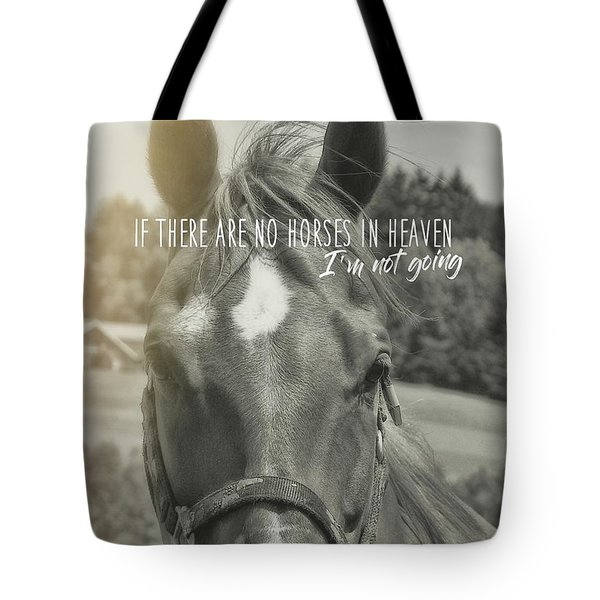 Summer Breeze Quote Tote Bag