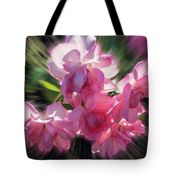 Tote Bag featuring the photograph Summer Flowers by Vladimir Kholostykh