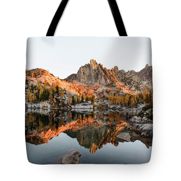 Sunrise In The Enchantments Tote Bag