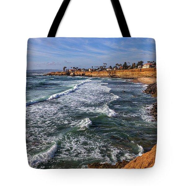 Sunset Cliffs 2 Tote Bag