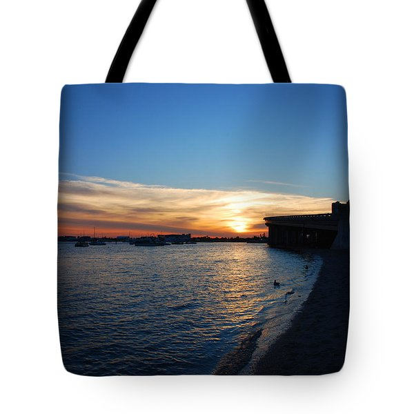 Tote Bag featuring the photograph 2- Sunset In Paradise by Joseph Keane