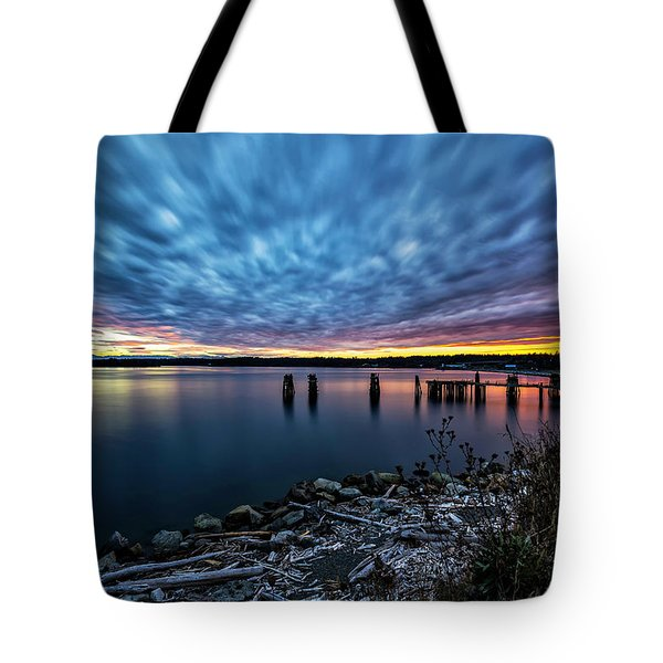 Sunset Jacksons Beach Tote Bag