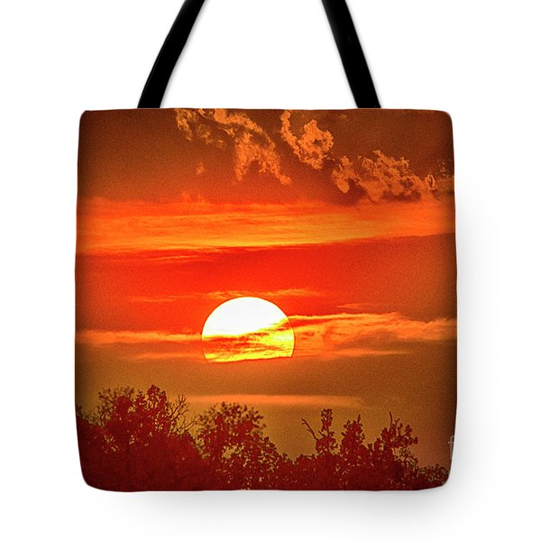 Sunset Tote Bag by Pravine Chester