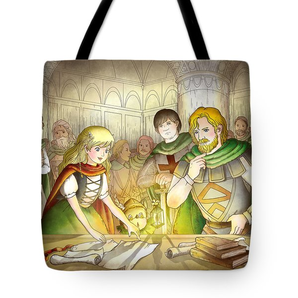 The Articles Of The Barons Tote Bag by Reynold Jay