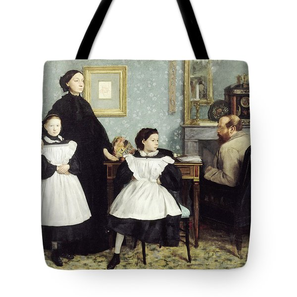 The Bellelli Family Tote Bag by MotionAge Designs