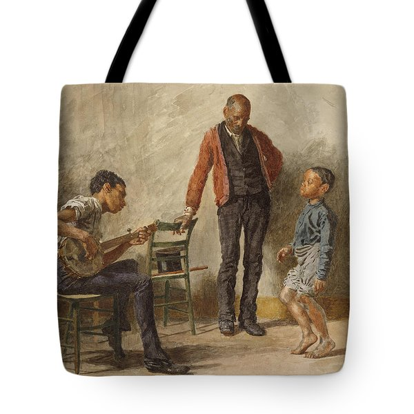 The Dancing Lesson Tote Bag