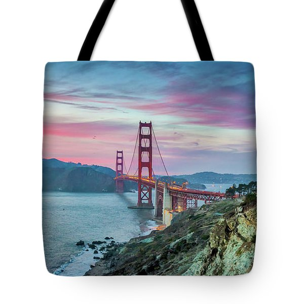 The Golden Gate Tote Bag by JR Photography