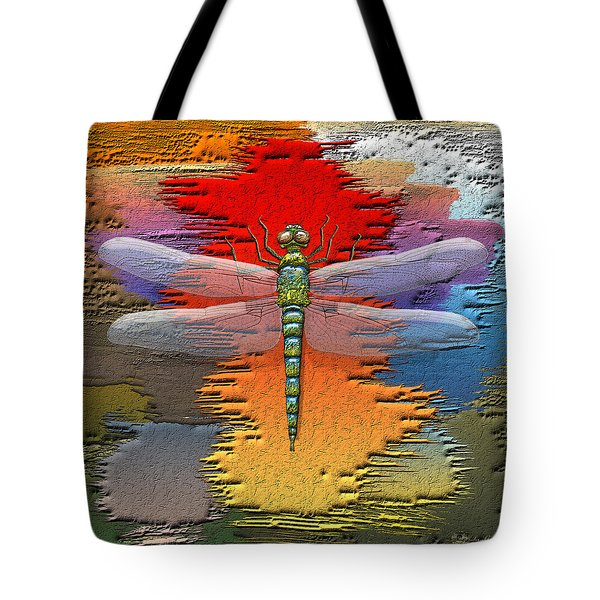 The Legend Of Emperor Dragonfly Tote Bag