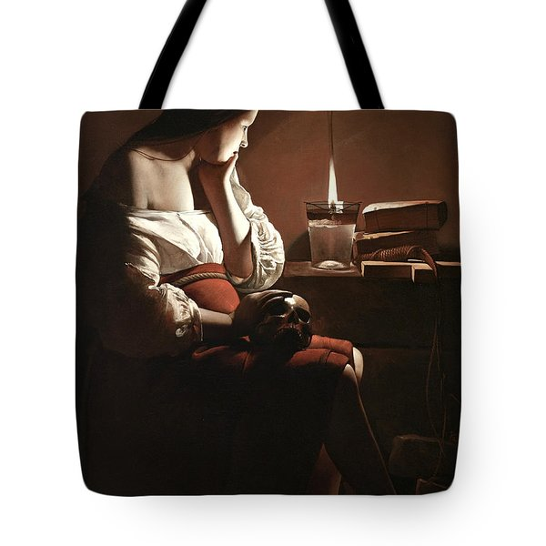 The Magdalen With The Smoking Flame Tote Bag