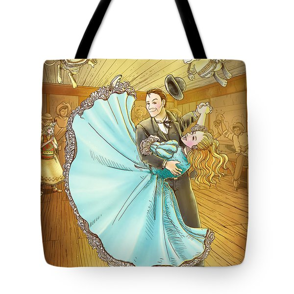The Magic Dancing Shoes Tote Bag by Reynold Jay