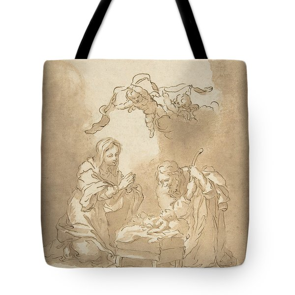 The Nativity Tote Bag