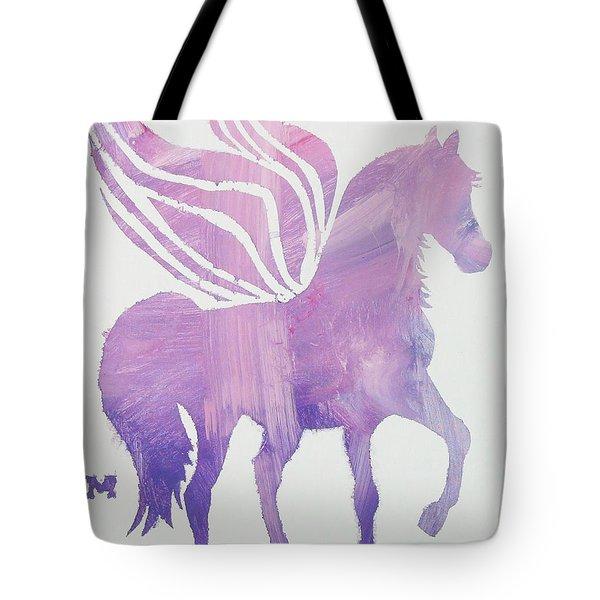 The Pink Pegasus Tote Bag