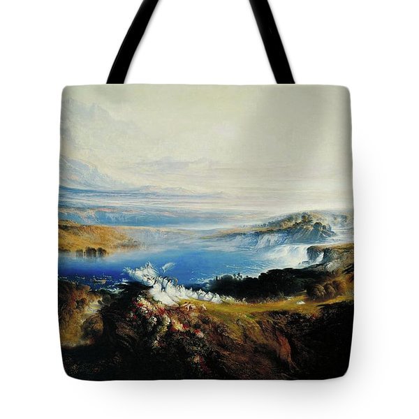 The Plains Of Heaven Tote Bag