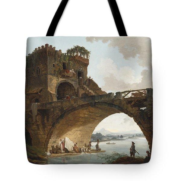 The Ponte Salario Tote Bag