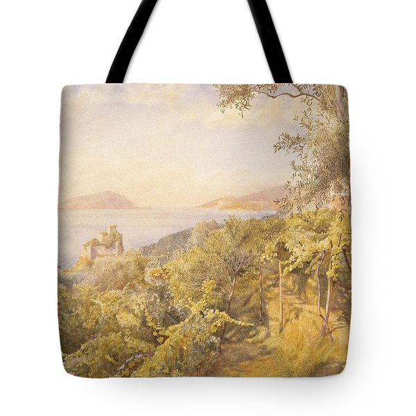 The Priest Garden Tote Bag