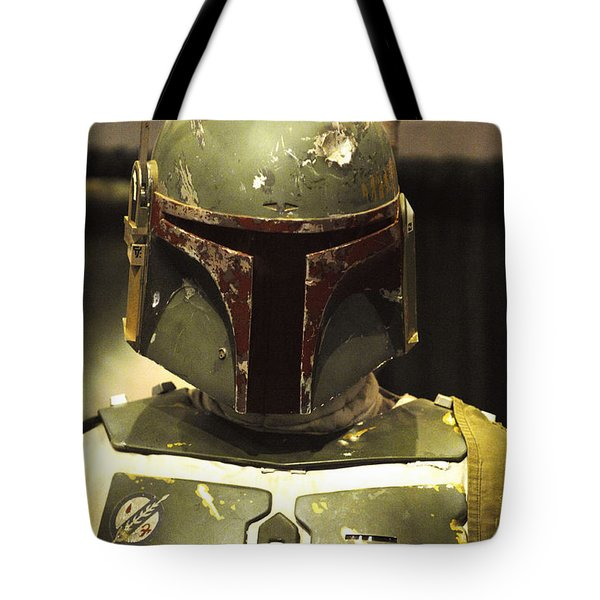 The Real Boba Fett Tote Bag by Micah May