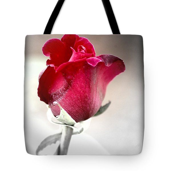 Tote Bag featuring the photograph The Rose by Donna Bentley