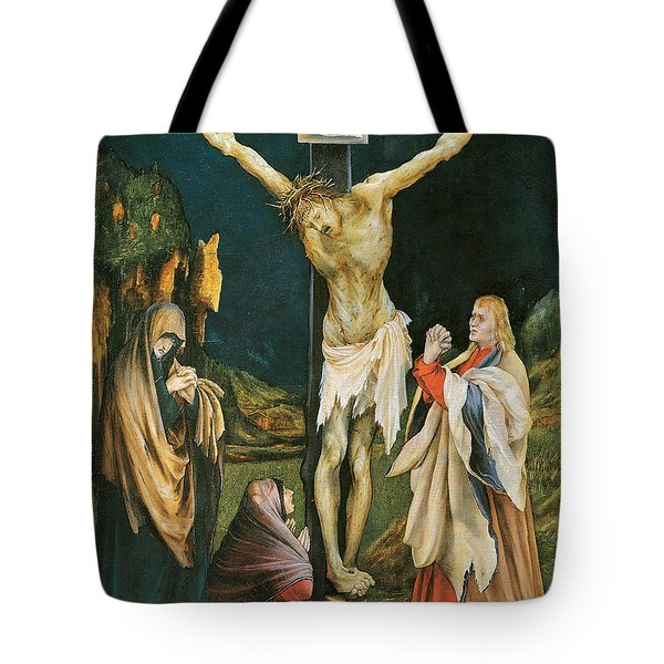 The Small Crucifixion Tote Bag