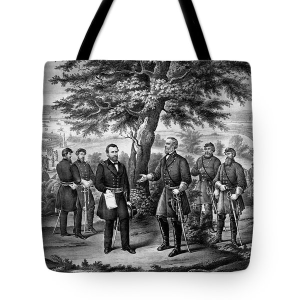 The Surrender Of General Lee Tote Bag
