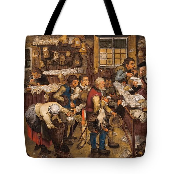 The Tax Collectors Office  Tote Bag