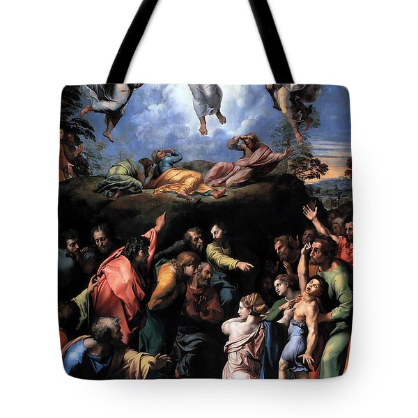 The Transfiguration Tote Bag