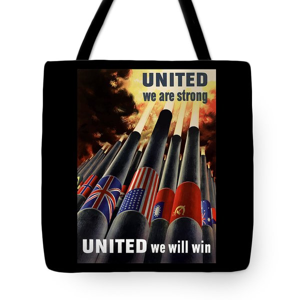 The United Nations Fight For Freedom Tote Bag by War Is Hell Store