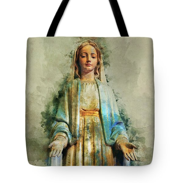 The Virgin Mary Tote Bag