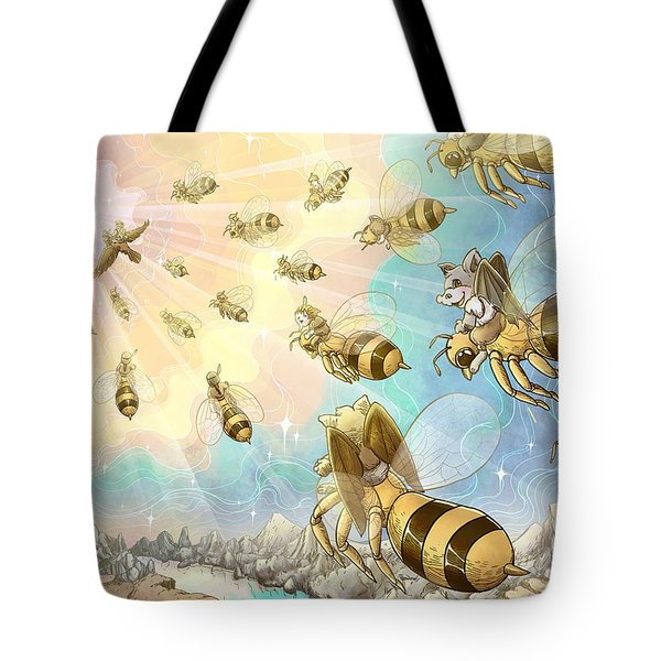 The Vortex Of Time And Space Tote Bag by Reynold Jay