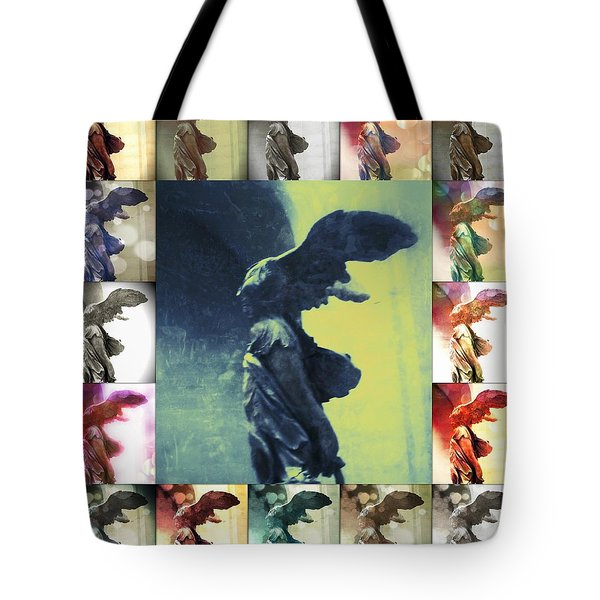 The Winged Victory - Paris - Louvre Tote Bag