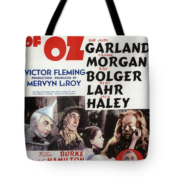 The Wizard Of Oz 1939 Tote Bag