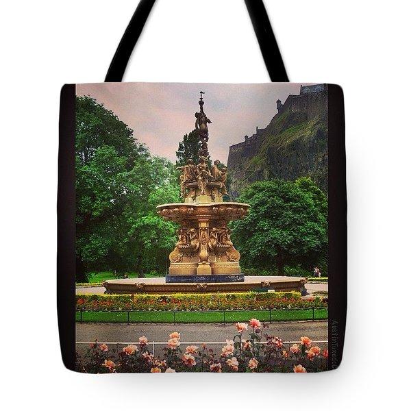 Throwback Thursday #edinburgh #scotland Tote Bag