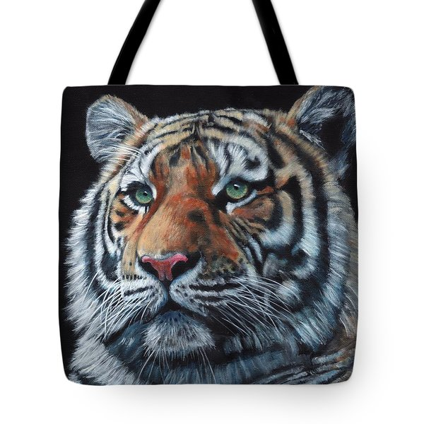 Tiger Portrait Tote Bag