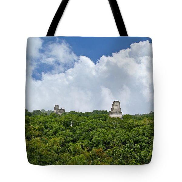 Tikal, Guatemala Tote Bag