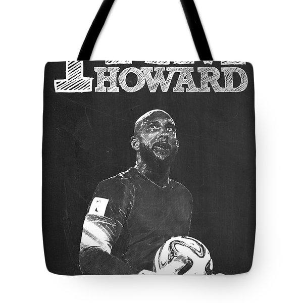 Tim Howard Tote Bag