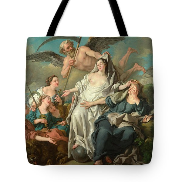 Time Unveiling Truth Tote Bag