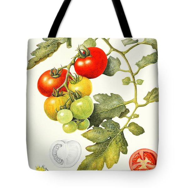 Tomatoes Tote Bag by Margaret Ann Eden