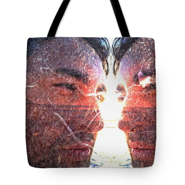 Tote Bag featuring the photograph Totem by Beto Machado