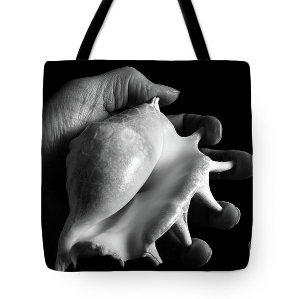 Touch Series - Shells Tote Bag by Nicholas Burningham