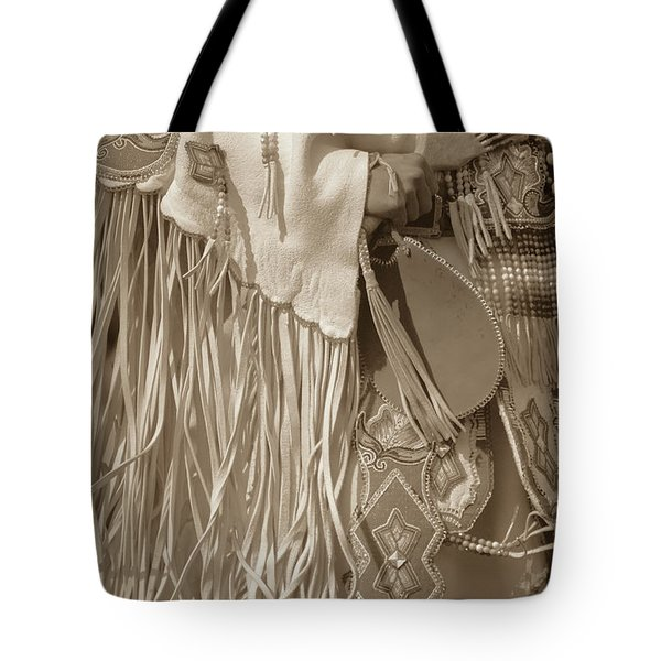Traditional Dancer Tote Bag
