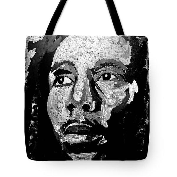 Tribute To Bob Marley Tote Bag
