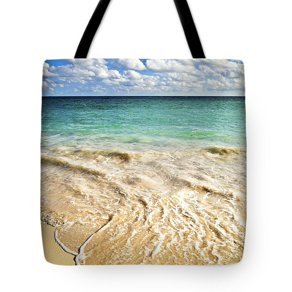 Tropical Beach  Tote Bag