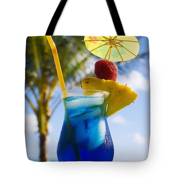 Tropical Cocktail Tote Bag