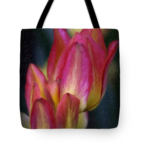 Tulips Tote Bag by Andre Faubert