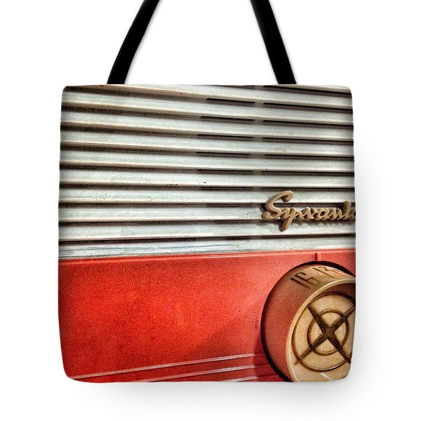 Tote Bag featuring the photograph Tuning In by Olivier Calas
