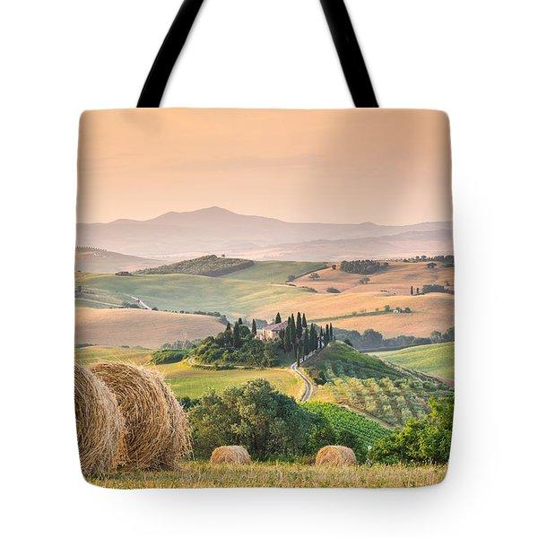 Tuscany Morning Tote Bag