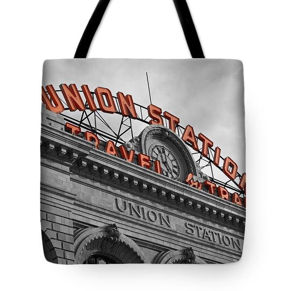 Union Station - Denver  Tote Bag