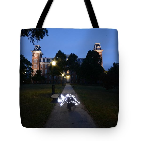 University Of Arkansas Tote Bag